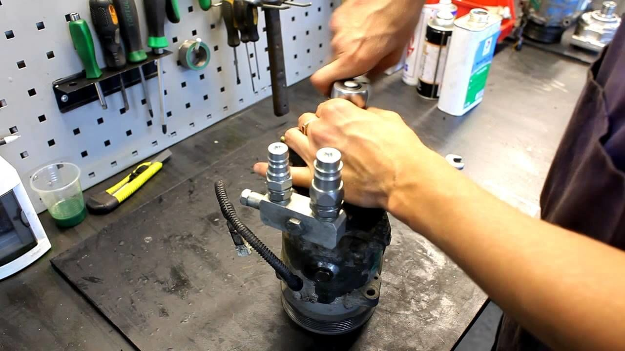 Ремонт компрессора с холодильника своими руками видео